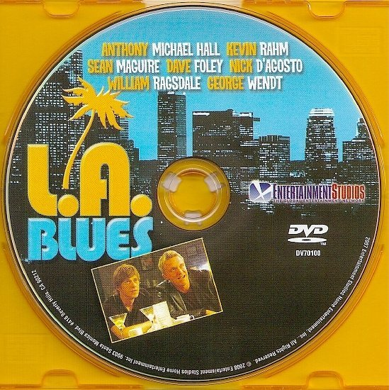 dvd cover L.A. Blues (2007) FS R1
