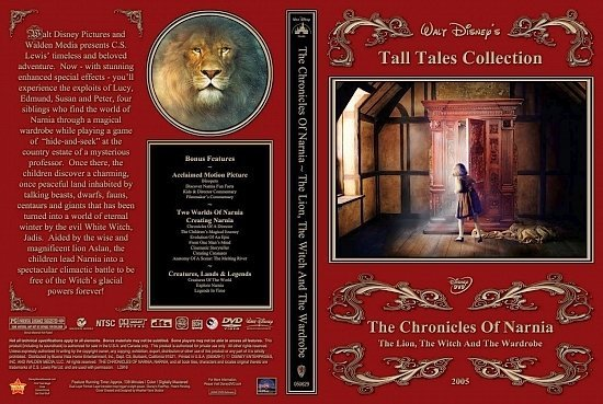 dvd cover Narnia Lion 2Disc