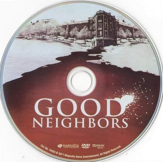 dvd cover Good Neighbors (2010) R1