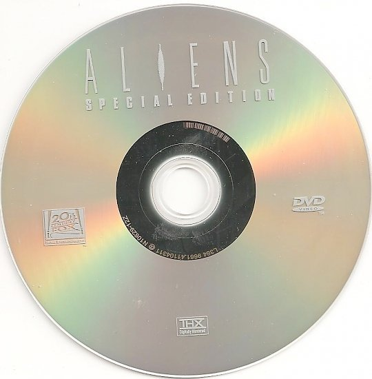 dvd cover Aliens (1986) WS SE R1