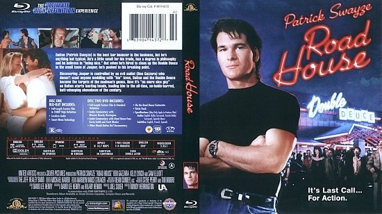 dvd cover Road House (1989) Blu-Ray