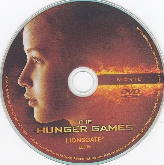 dvd cover The Hunger Games WS R1