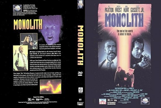 dvd cover Monolith