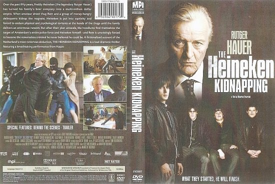 dvd cover The Heineken Kidnapping (2011) R1 - Front Cover