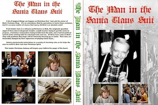 dvd cover The Man in the Santa Claus Suit (1979-TV) R0 Custom