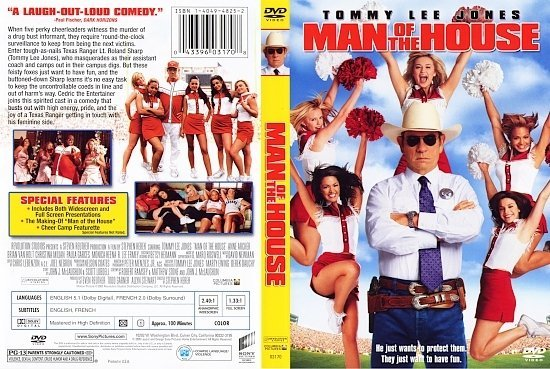dvd cover Man Of The House (2005) R1