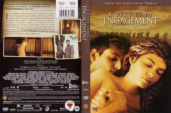 dvd cover A Very Long Engagement (2004) WS R1