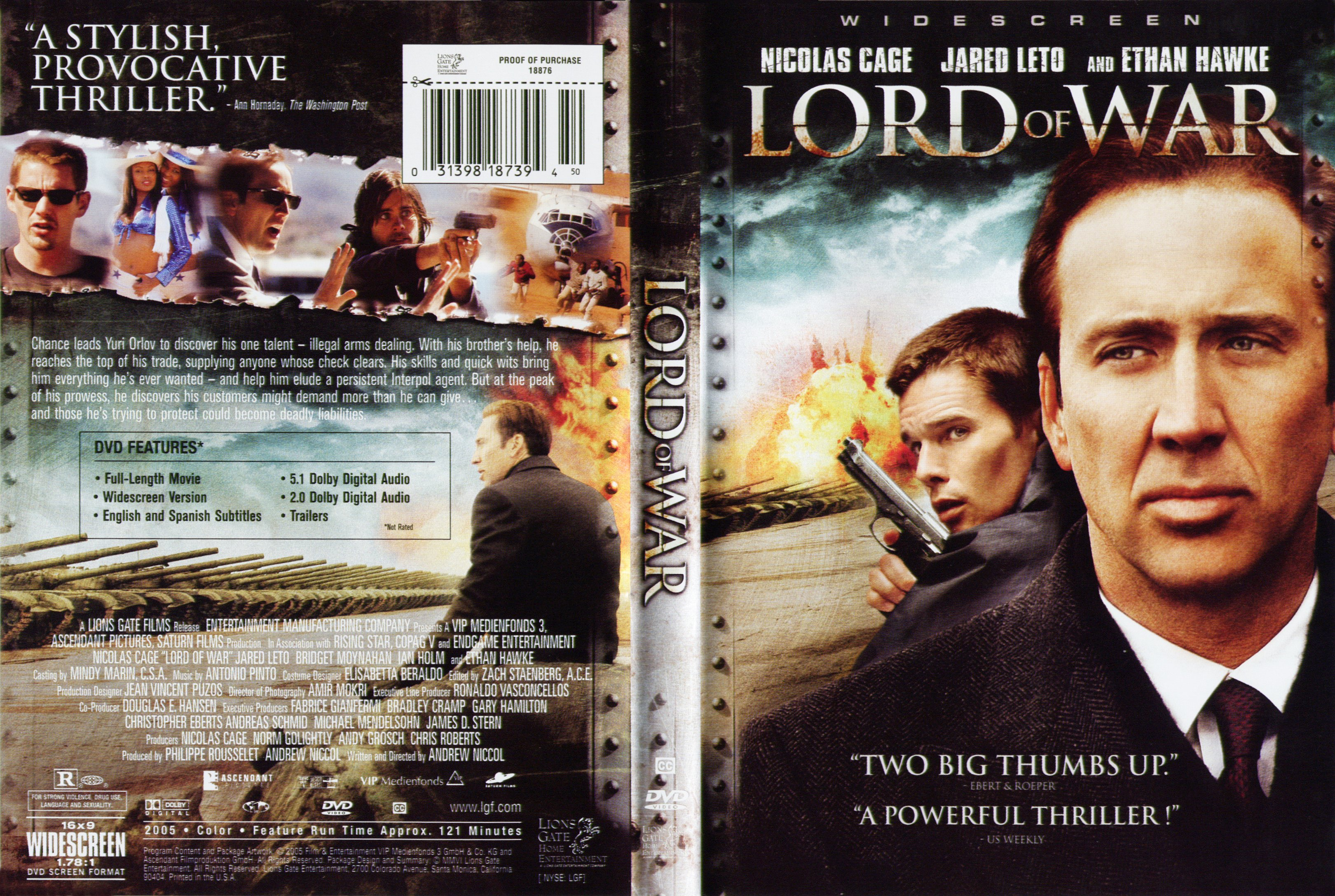 lord of war Lord of war is an action adventure story set in the world of international arms dealing the film, based on fact, follows the globetrotting exploits of arms dealer yuri orlov.
