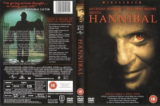dvd cover Hannibal (2001) WS R2