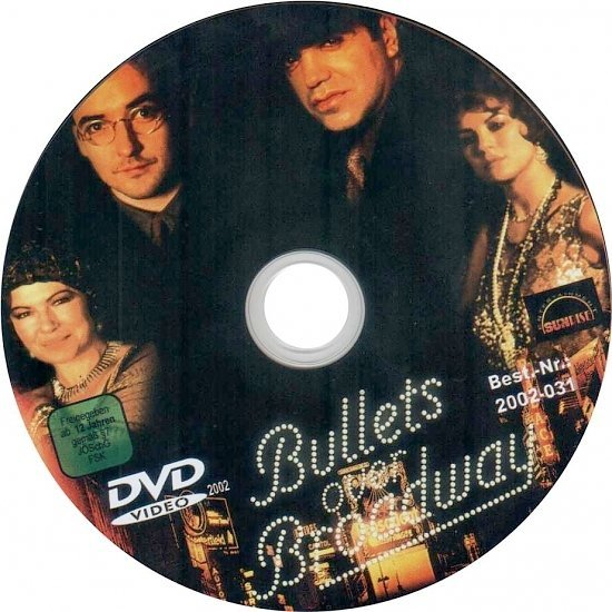dvd cover Bullets Over Broadway (1994) WS R1