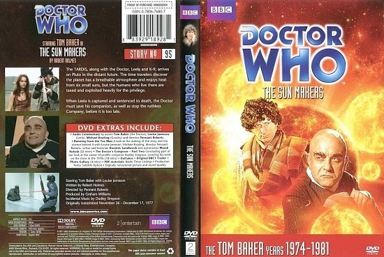 dvd cover Doctor Who The Sun Makers
