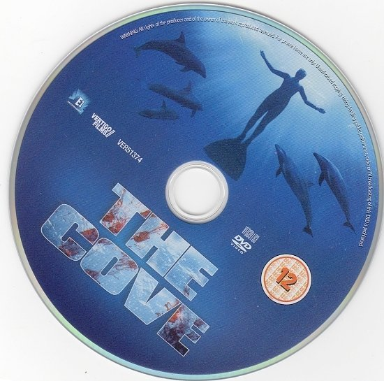 dvd cover The Cove (2009) R2