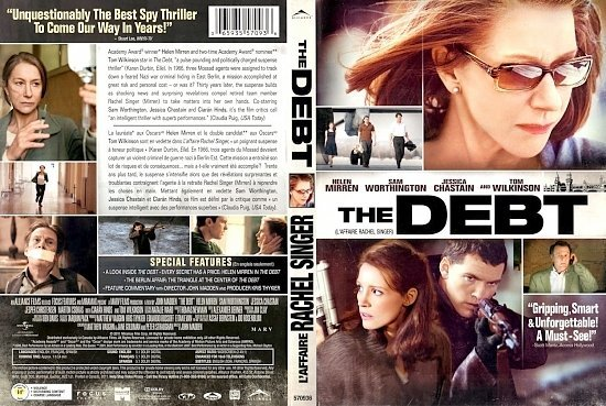dvd cover The Debt L Affaire Rachel Singer English French