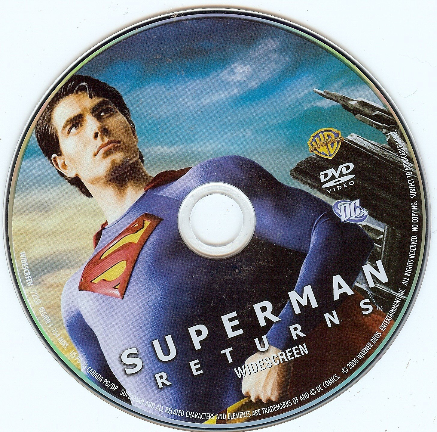 Superman Returns (2006) WS R1   Dvd Covers and Labels