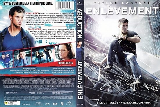 dvd cover Abduction Enlevement