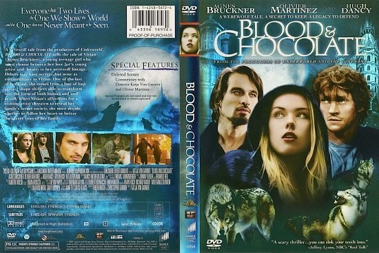 dvd cover Blood and Chocolate (2007) WS R1