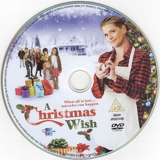 dvd cover A Christmas Wish (2011) R2