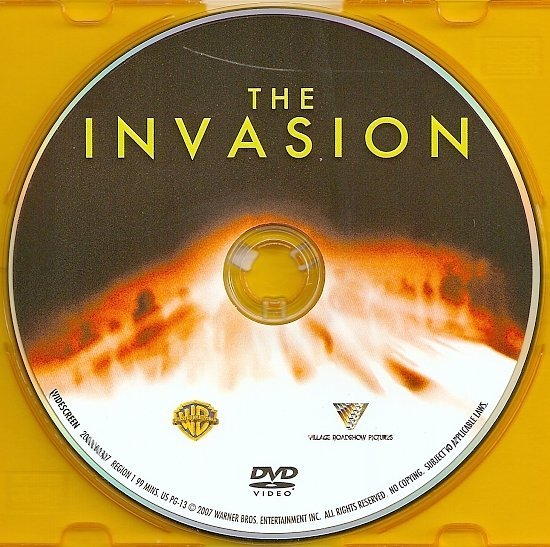 dvd cover The Invasion (2007) R1 & R2