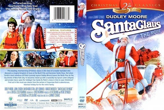 dvd cover Santa Claus The Movie 25th Anniversary Edition