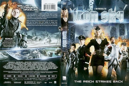 dvd cover Iron Sky WS R1 - Front Cover