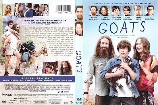 dvd cover Goats R1