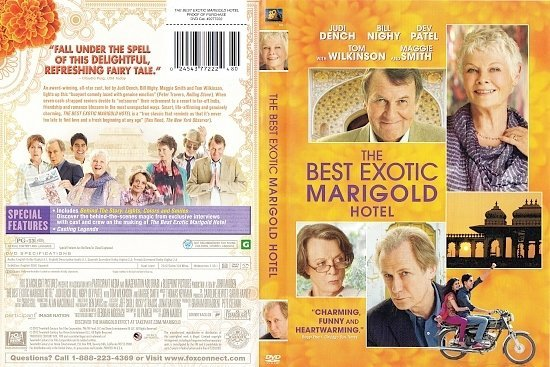 dvd cover The Best Exotic Marigold Hotel (2011) WS R0