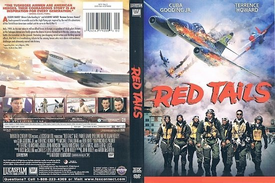 dvd cover Red Tails R1