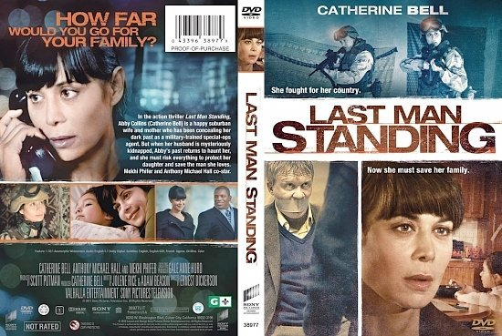 dvd cover Last Man Standing