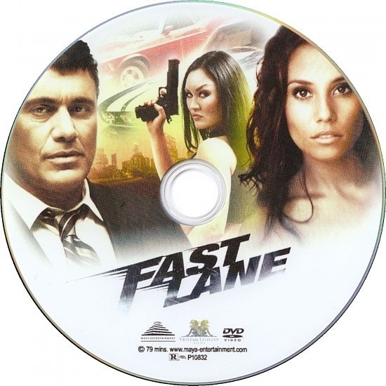 dvd cover Fast Lane (2010) WS R1