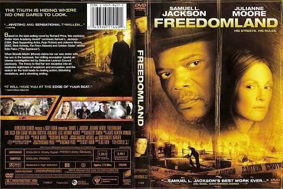 dvd cover Freedomland (2006) WS R1
