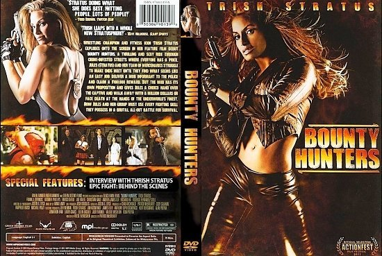 dvd cover Bounty Hunters