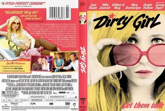 dvd cover Dirty Girl (2010) WS R1