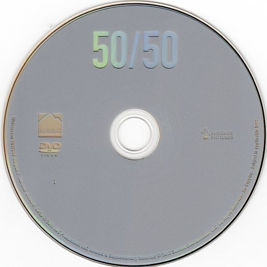 dvd cover 50/50 (2011) WS R1