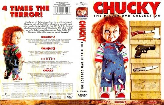 dvd cover Chucky Collection FRONT
