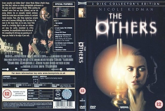 dvd cover The Others (2001) CE WS R2