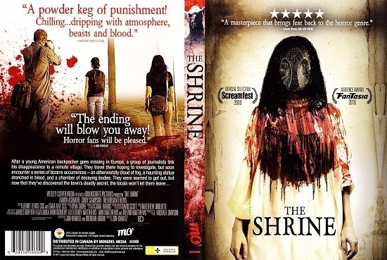 dvd cover The Shrine (2010) WS R1
