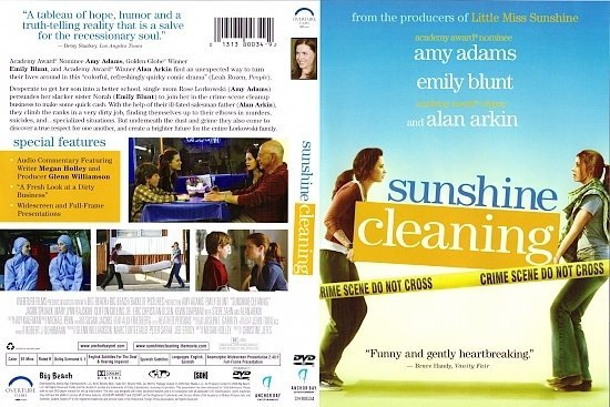 dvd cover Sunshine Cleaning (2008) R1