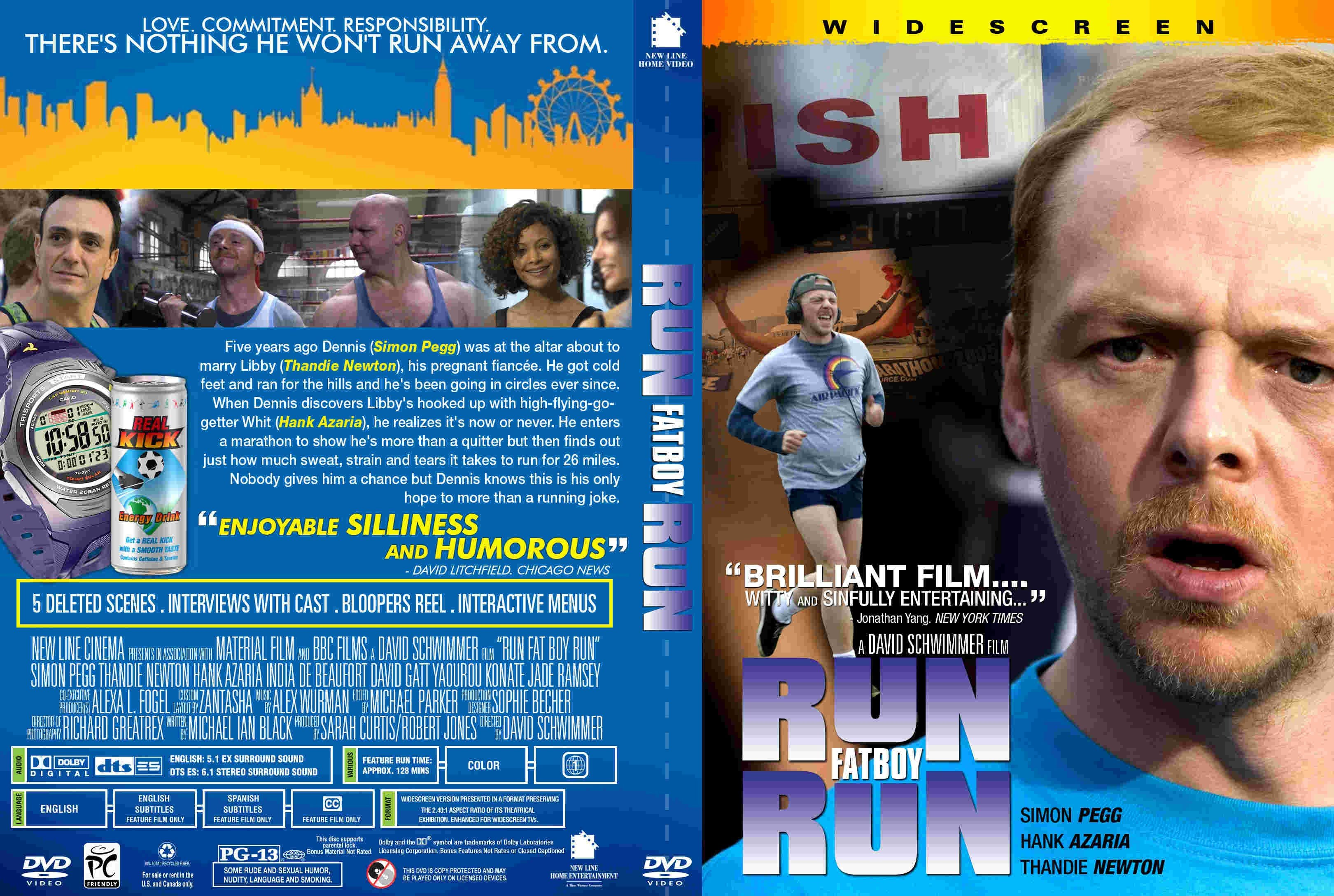 Run Fatboy Run 2007 R2 R1 Dvd Covers And Labels