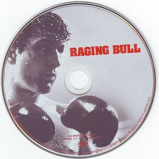 dvd cover Raging Bull (1980) R4