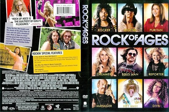 dvd cover Rock Of Ages R1