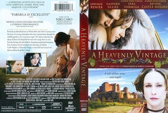 dvd cover A Heavenly Vintage
