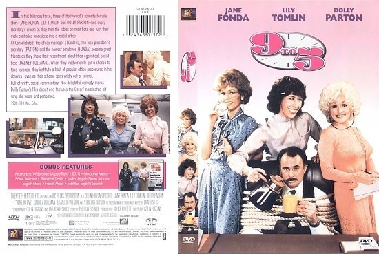 dvd cover Nine to Five (1980) WS R1