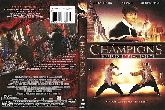 dvd cover Champions