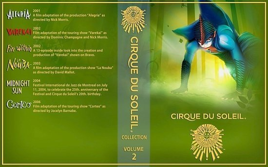 dvd cover Cirque Du Soleil Collection