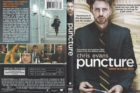 dvd cover Puncture (2011) WS R1