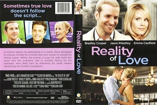 dvd cover Reality of Love