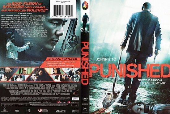 dvd cover Punished