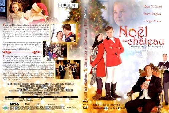 dvd cover Noel Au Chateau Christmas At Castlebury Hall