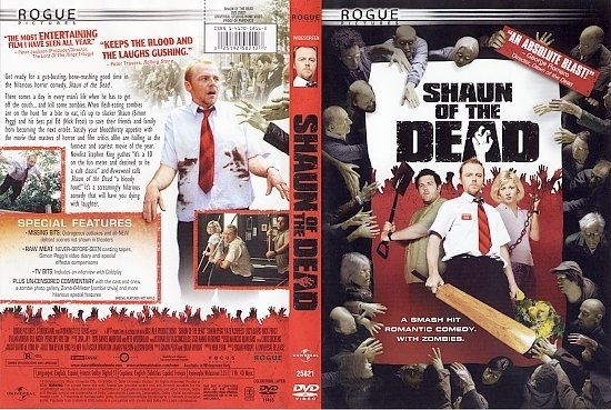 dvd cover Shaun Of The Dead (2004) WS R1