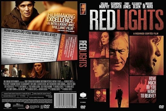 dvd cover Red Lights
